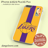 Lakers Nba Phone case for iPhone 6/6s/6 Plus/6S plus