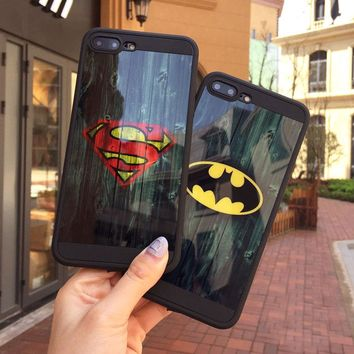 Mirror Skin Soft TPU Phone Cover Case for iPhone 6 6S Plus 7 Plus