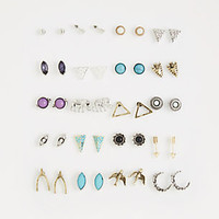 Wishbone Stud Earring Set
