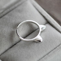 Cat Ears Ring Adjust