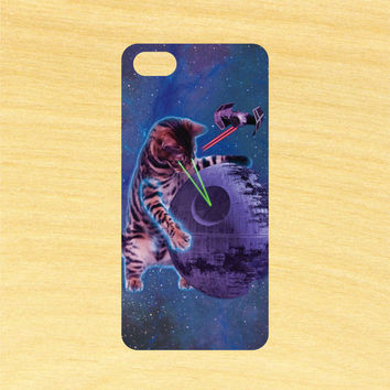Star Wars Cat in Space iPhone 4/4S 5/5C 6/6+ and Samsung Galaxy S3/S4/S5 Phone Case
