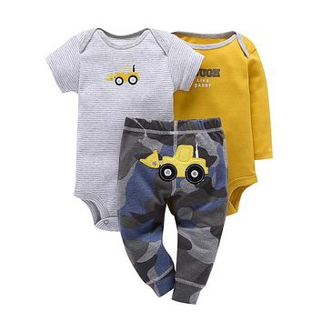 Cute My Truck 3pc Baby Set