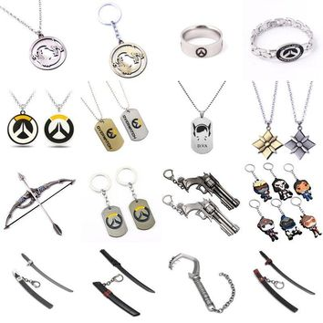Overwatch Various Keychains and Necklaces SD01519