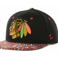 Chicago Blackhawks NHL Zep Chase SC 2013 Snapback Cap