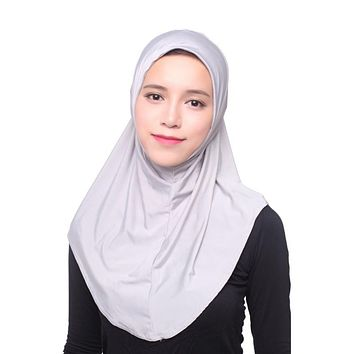 Fashion Muslim Women Islamic Hijab Inner Cap Wrap Headband Shawl Long Soft Scarf Women New