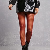 Spandex & Nylon Fishnet Tights