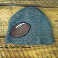 "Baby Boy Hat , Football Hat ""Touch Down"" Photo Prop For Toddler Boys and Boys"