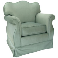 Angel Song 201721173Foam Aspen Seafoam Adult Empire Glider Rocker
