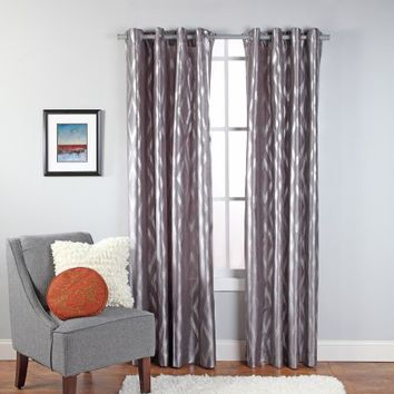 Stanton Metallic Print Grommet Window Panel - Walmart.com