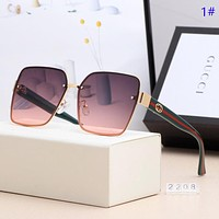 GUCCI New fashion polarized sun protection glasses eyeglasses women 1#