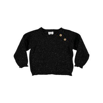 Buho Baby Boys' Black Pierrot Top