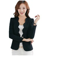 Women Casual Business Blazer Suit