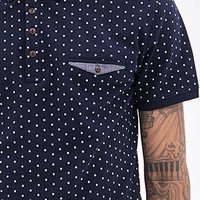Micro-Dotted Polo