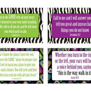 Paris Peacock Promise Pack  Verses for Discovering God's Plan | ScriptureArt®