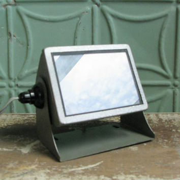 Amato Darkroom Light, Vintage Photography Supplies, West Germany, Working Industrial Lighting