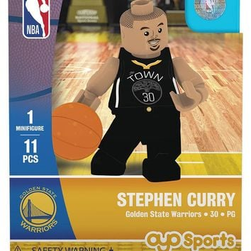 Golden State Warriors STEPHEN CURRY Statement Uniform Limited Edition OYO Minifigure