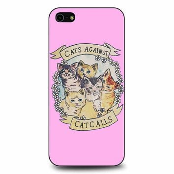 Cats Against Cat Calls iPhone 5/5s/SE Case