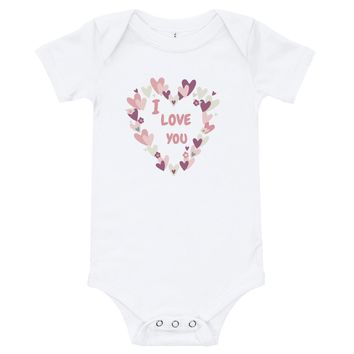 I Love You - Valentine's Day Baby Outfits