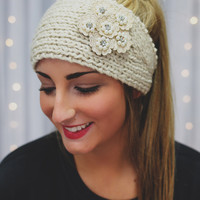 Lady Like Headband - Wheat