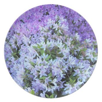 Rhododendron Bouquet Floral Plate