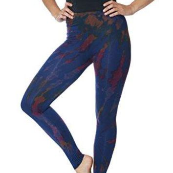 Tie Dye Cotton Spandex Leggings  Great for yoga fashion festival everyday wear hiking travel relaxing