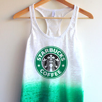 Starbucks Tie Dye Tank Top