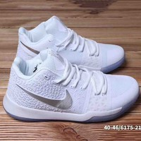 Nike Kyrie 3 EP Men Fashion Casual Running Sports Sneakers Shoes Camouflage G-A36H-MY