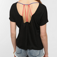 Daydreamer LA Colorblock Strap Back Tee