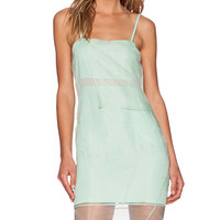 Whitney Eve Crane Lily Dress in Green