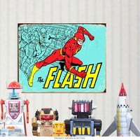 Flash Classic DC Comics Metal Sign