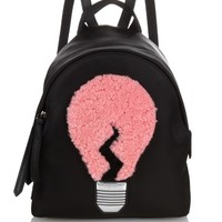 Lamp shearling and nylon mini backpack | Fendi | MATCHESFASHION.COM AU