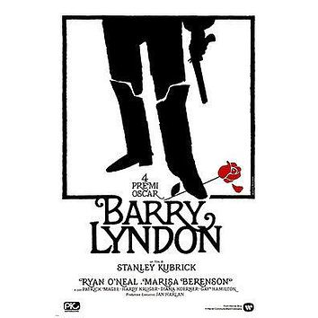 1975 BARRY Lyndon directed by stanley KUBRICK movie poster RYAN O'NEIL 24X36