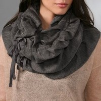 Juicy Couture Ruched Tape Scarf