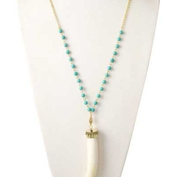 Western Travel Necklace-Turquoise