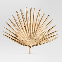 "Cast Metal Gold Palm Leaf (11.5""x10"") - Project 62™"