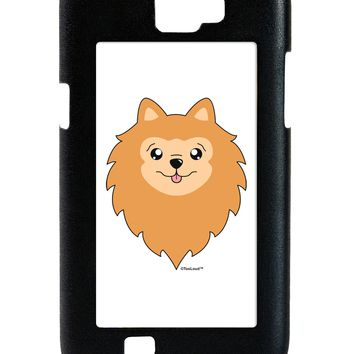 Cute Pomeranian Dog Galaxy Note 2 Case  by TooLoud