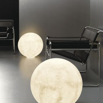 Floor Moon 1 Light by in-es.artdesign for in-es.artdesign