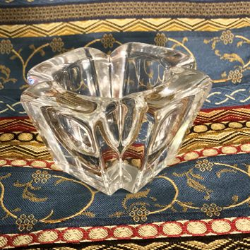 Orrefors Crystal Vintage Votive Candle Holder