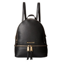 Michael Kors Rhea Zip Small Backpack - Black