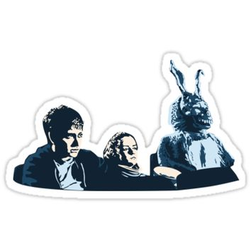 'Donnie Darko' Sticker by Laura Frère