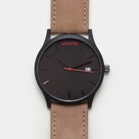 MVMT Watch - Black & Tan