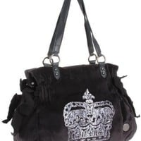 Juicy Couture Vintage Crown Velour Ms. Daydreamer Bag
