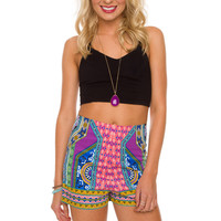 Marlowe High Waist Shorts