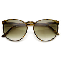 Large Retro Round Key Hole P3 Circle Sunglasses 9188