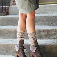 Jeffrey Campbell + Free People Womens Andover Lace Up Boot - Grey Suede