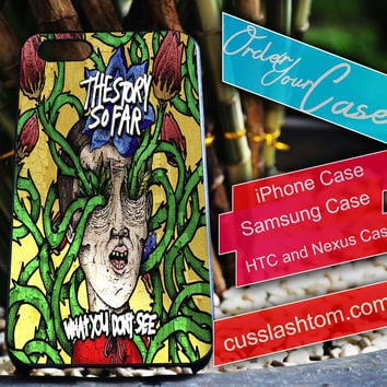 Exclusive The Story So Far iPhone for 4 5 5c 6 Plus Case, Samsung Galaxy for S3 S4 S5 Note 3 4 Case, iPod for 4 5 Case, HtC One M7 M8