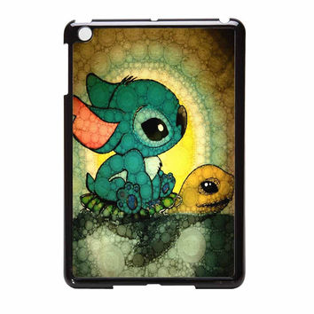 Stitch And Turtle Cute iPad Mini Case