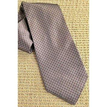 Vintage Simple Twist Of Class  Silk Tie