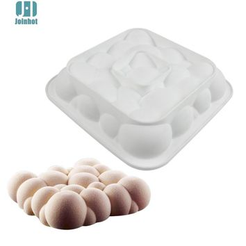 Joinhot Baking White Silicone Cloud Shaped Mousse Cake Mould Dessert Decorating Tools