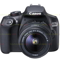 New Canon EOS 1300D Rebel T6 DSLR Camera with 18-55mm Lens